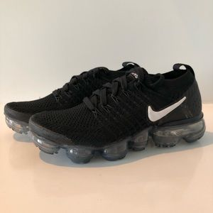 Nike Air VaporMax Flyknit 2 Black White 942843-001